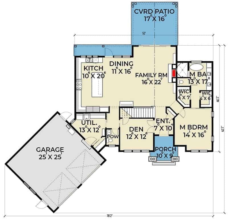 Impressive Two Story 3 Bedroom Modern Farmhouse Floor Plan Home Stratosphere