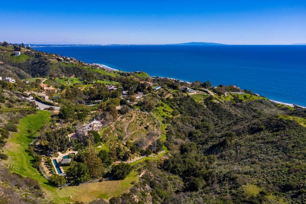 Aerial view of the neighborhood showcasing its gorgeous and lush landscaping. Images courtesy of Toptenrealestatedeals.com.