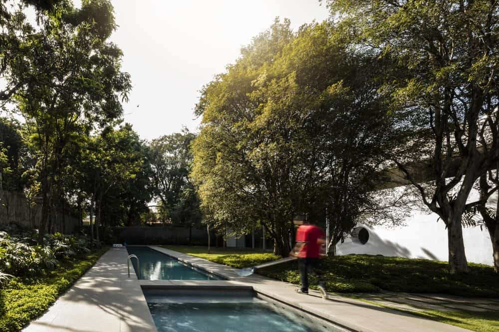 Lap pool of the Gama Issa v2.0 designed by studio mk27.