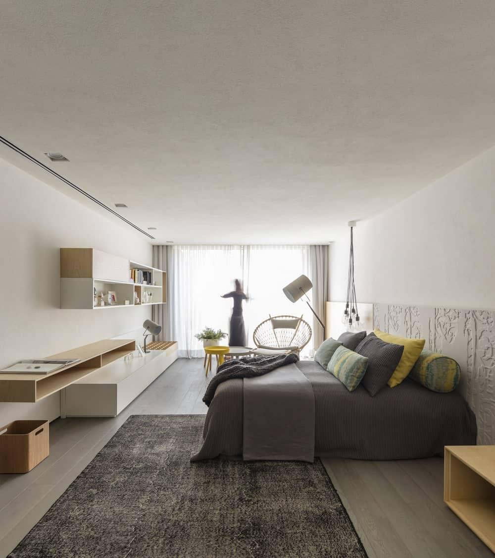 Bedroom in the Gama Issa v2.0 designed by studio mk27.