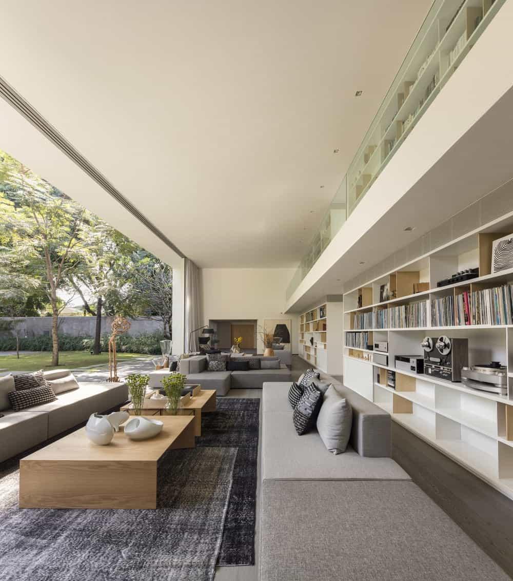 Living room in the Gama Issa v2.0 designed by studio mk27.