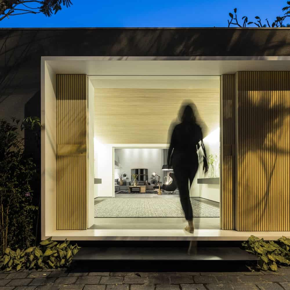 Entryway in the Gama Issa v2.0 designed by studio mk27.