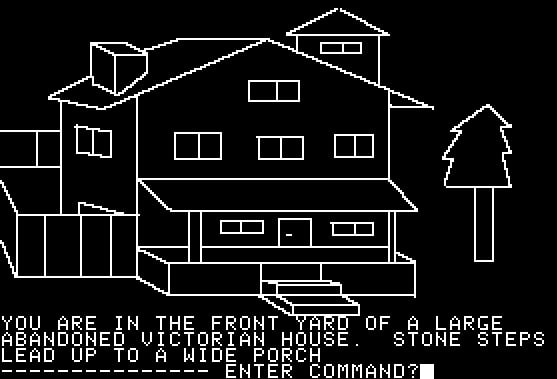Mystery House from Apple II