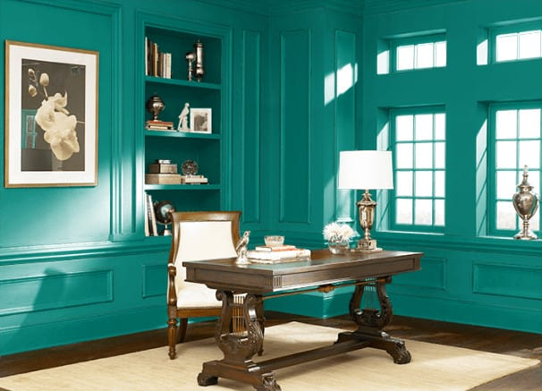 Mystic Turquoise by Behr