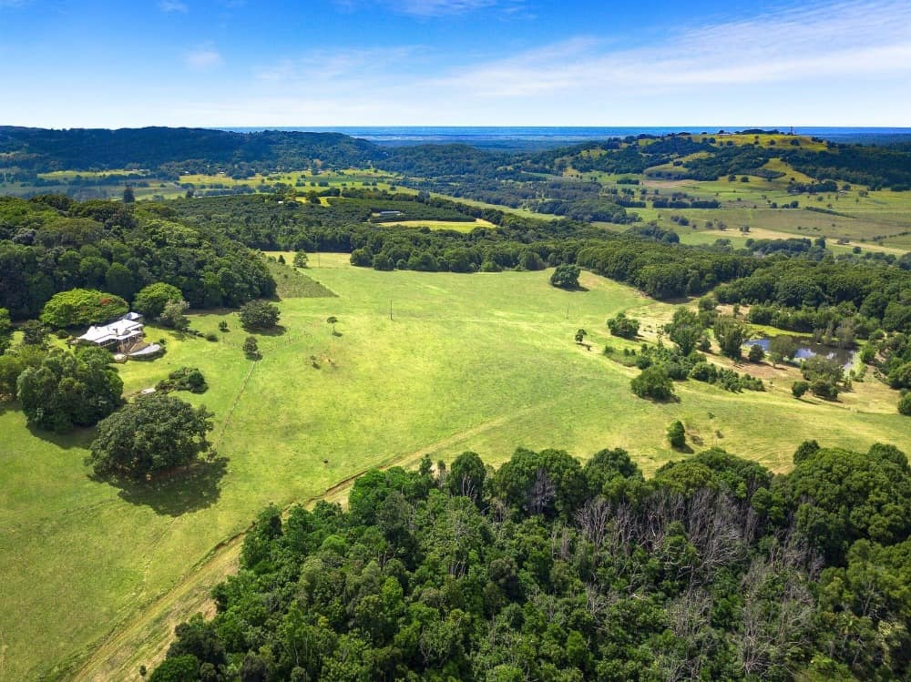 Another aerial view of the property showcasing its gorgeous landscape. Images courtesy of Toptenrealestatedeals.com.