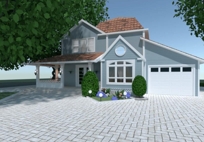 Cute home exterior