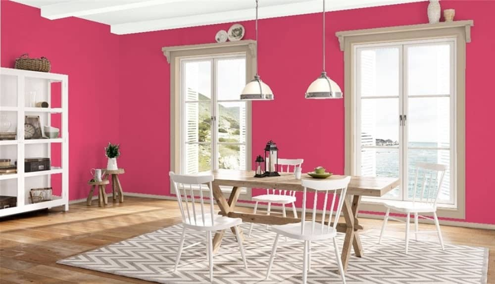 Rosy Blush by Benjamin Moore