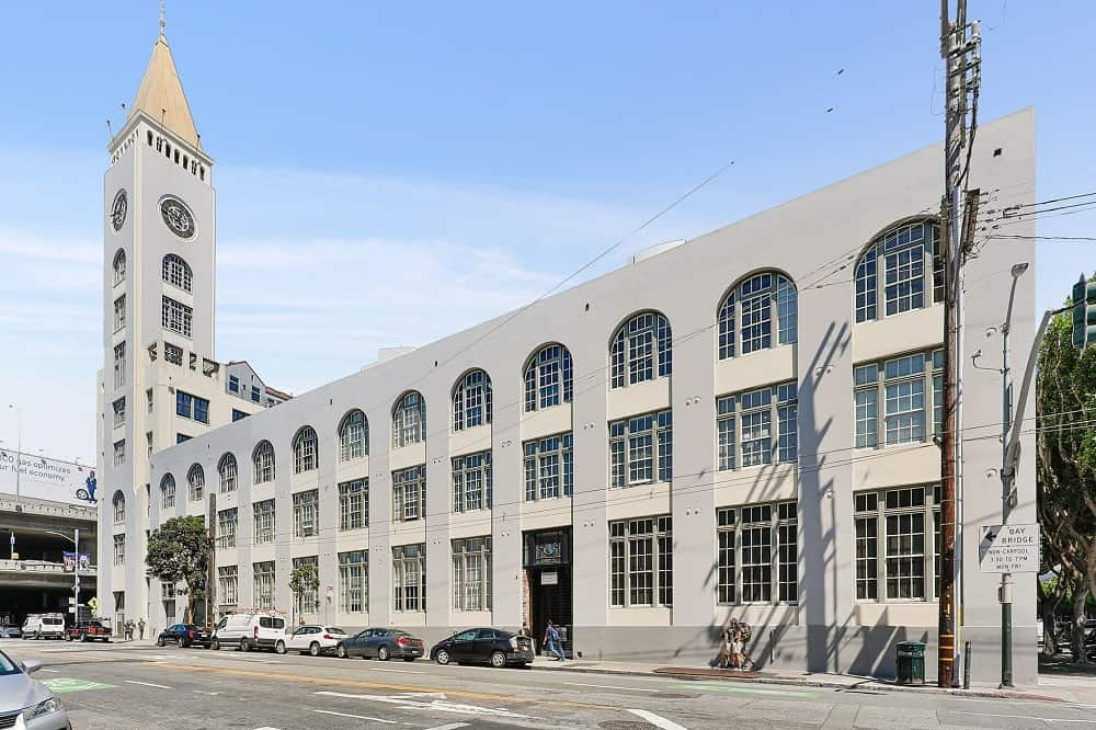 A view from the street of the entire building of the clock tower penthouse. Images courtesy of Toptenrealestatedeals.com.