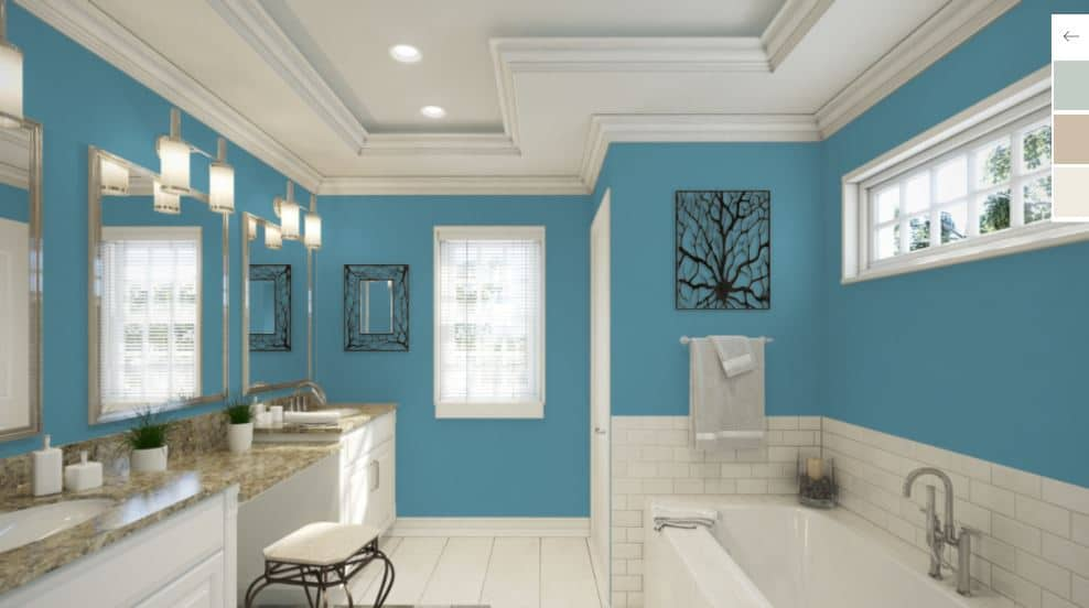 Manitou Blue by Sherwin-Williams