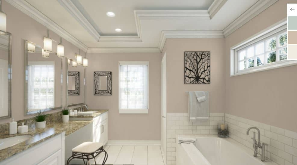 25 of the best beige paint color options for master bathrooms