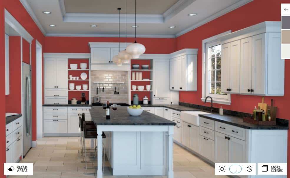 Red Tomato by Sherwin-Williams