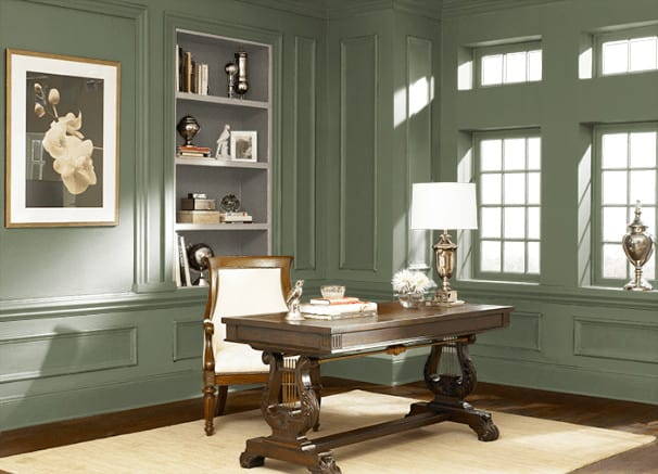 Spicy Olive by Behr