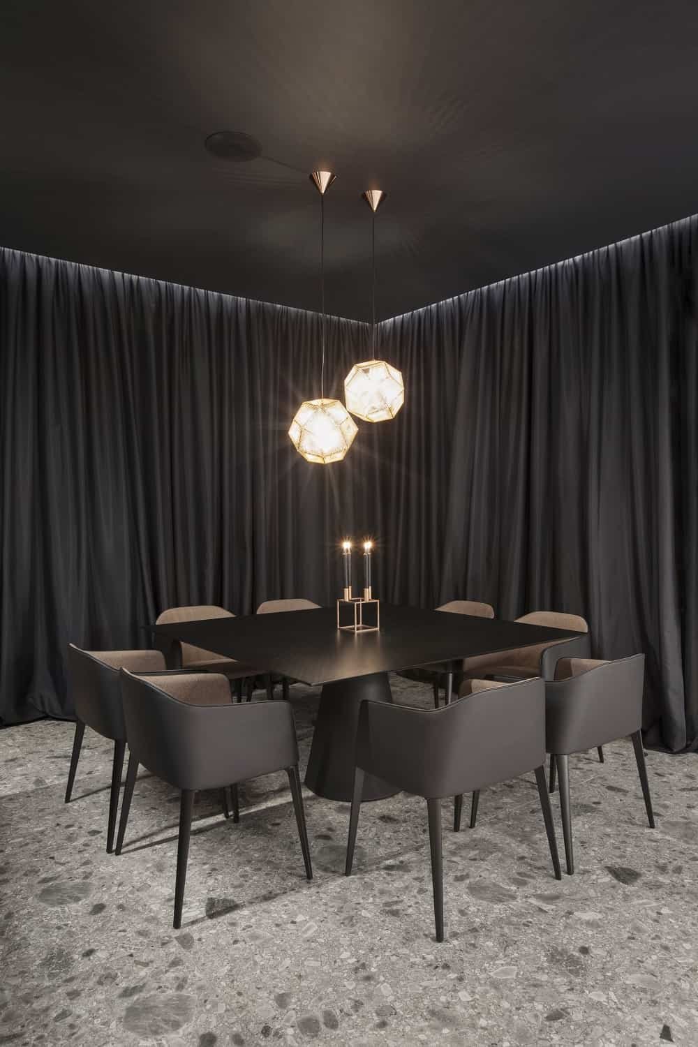Dining area in the SPV29 designed by ALL In STUDIO LTD.