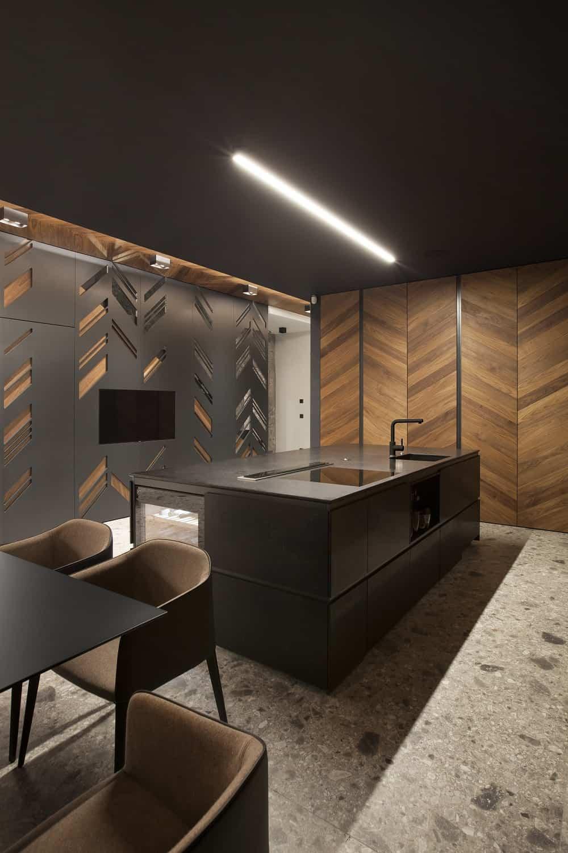 Kitchen in the SPV29 designed by ALL In STUDIO LTD.