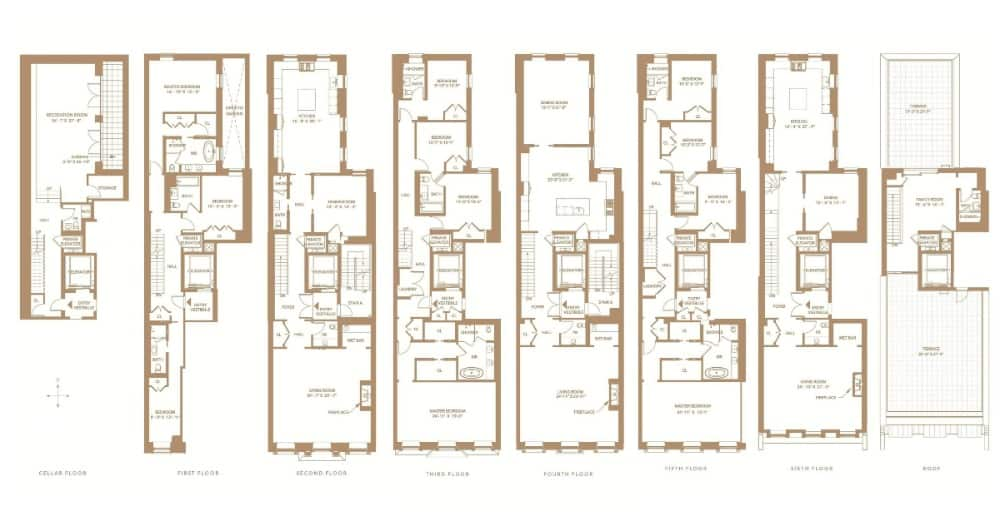 Here's the floor plan of the house. Images courtesy of Toptenrealestatedeals.com.