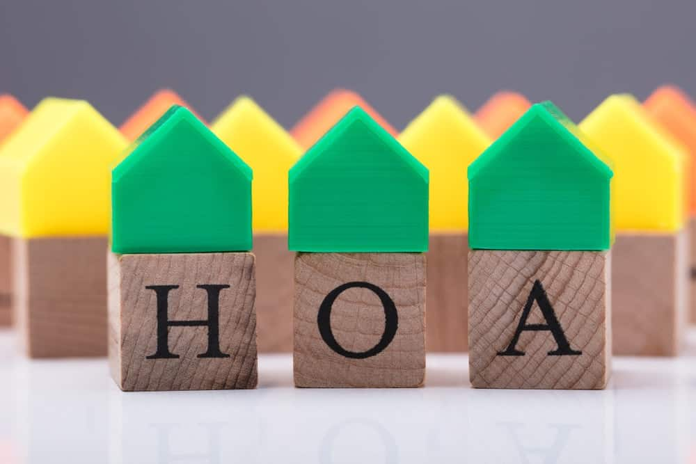 A visual representation of the Home Owner's Association.