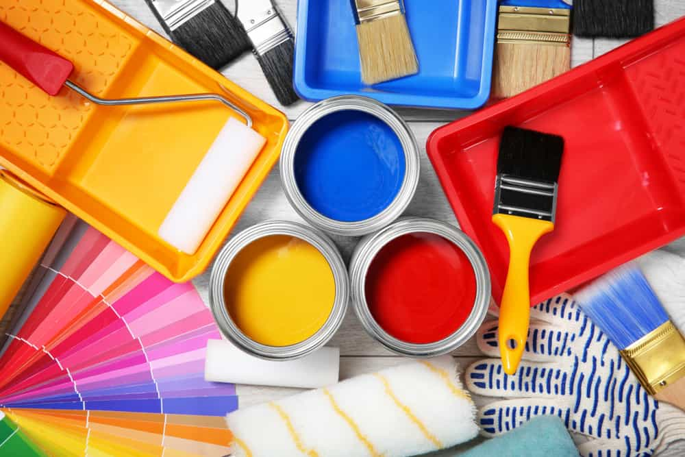 Variety of paint for vinyl siding