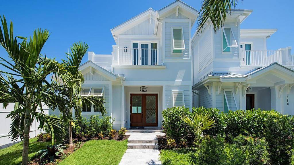 4-Bedroom Two-Story Sea Scape Beach Style Home