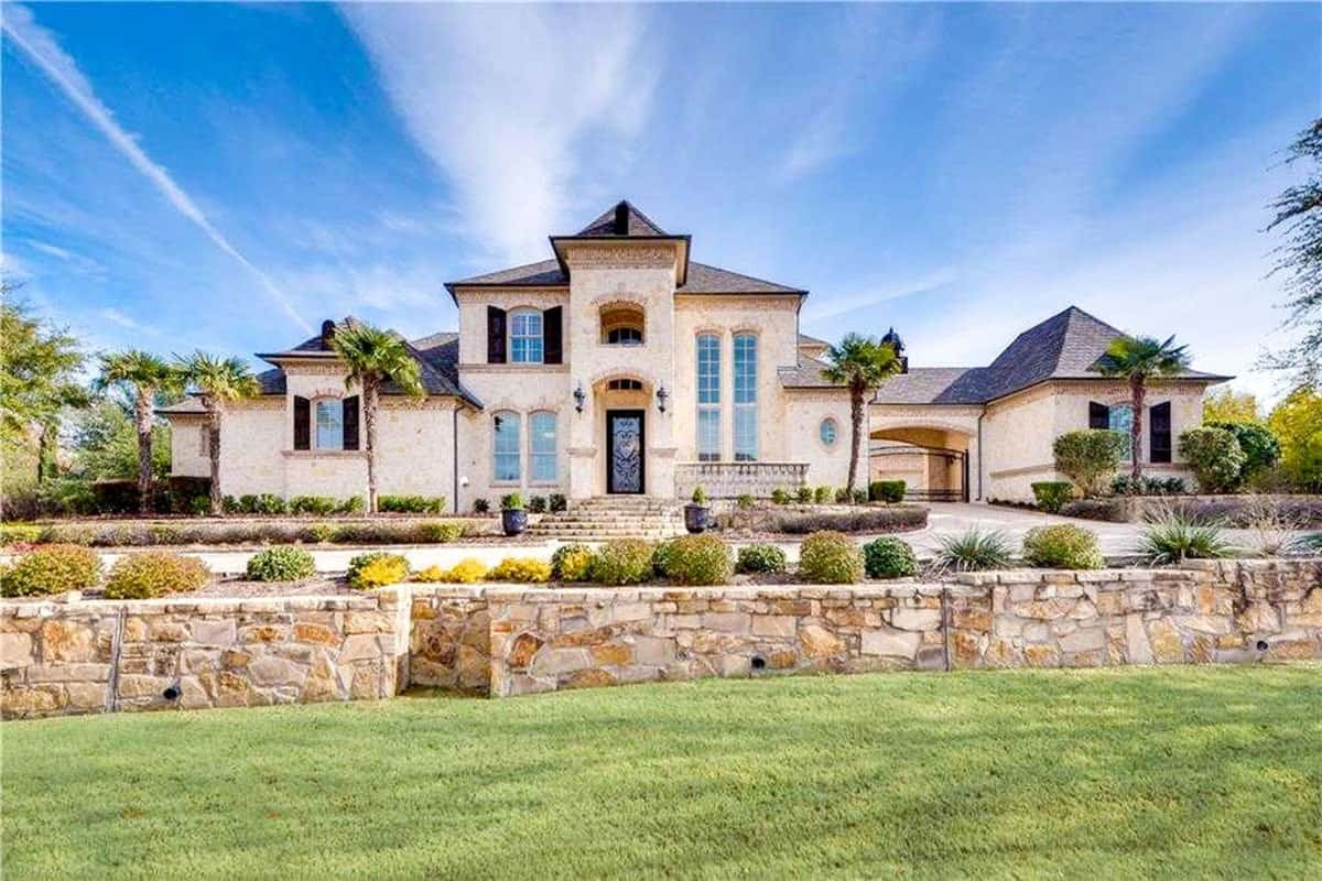 5-Bedroom Two-Story Dramatic Manor Home