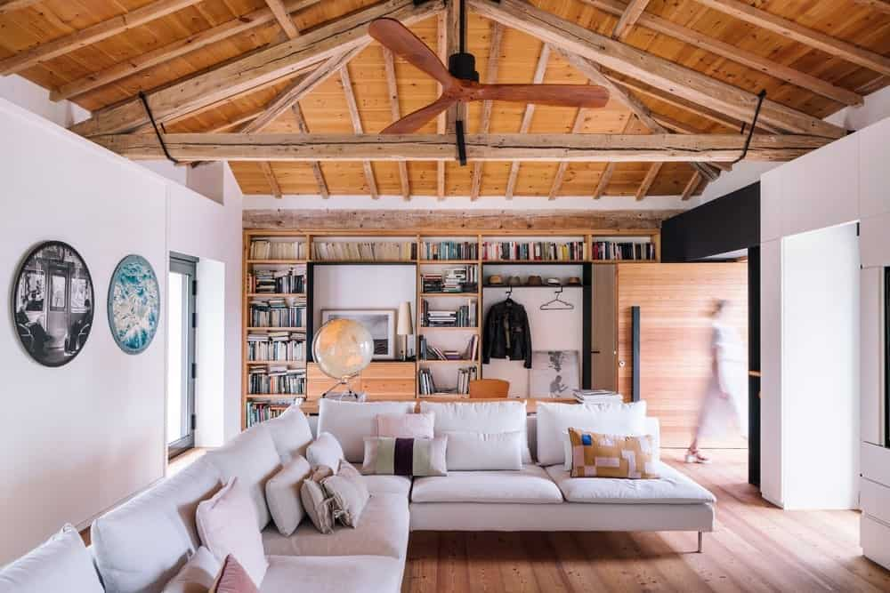 Living Room Interior of the House in Güemes by Zooco Estudio