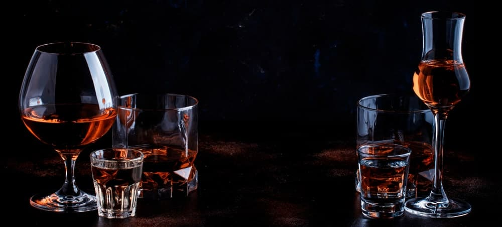 High-quality dark tequila.