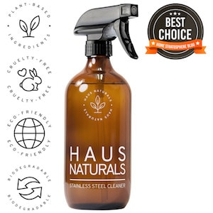 HAUS Naturals Stainless Steel Cleaner