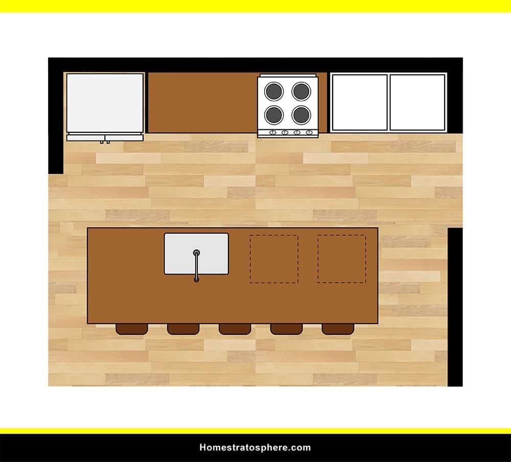 Kitchen 01 layout