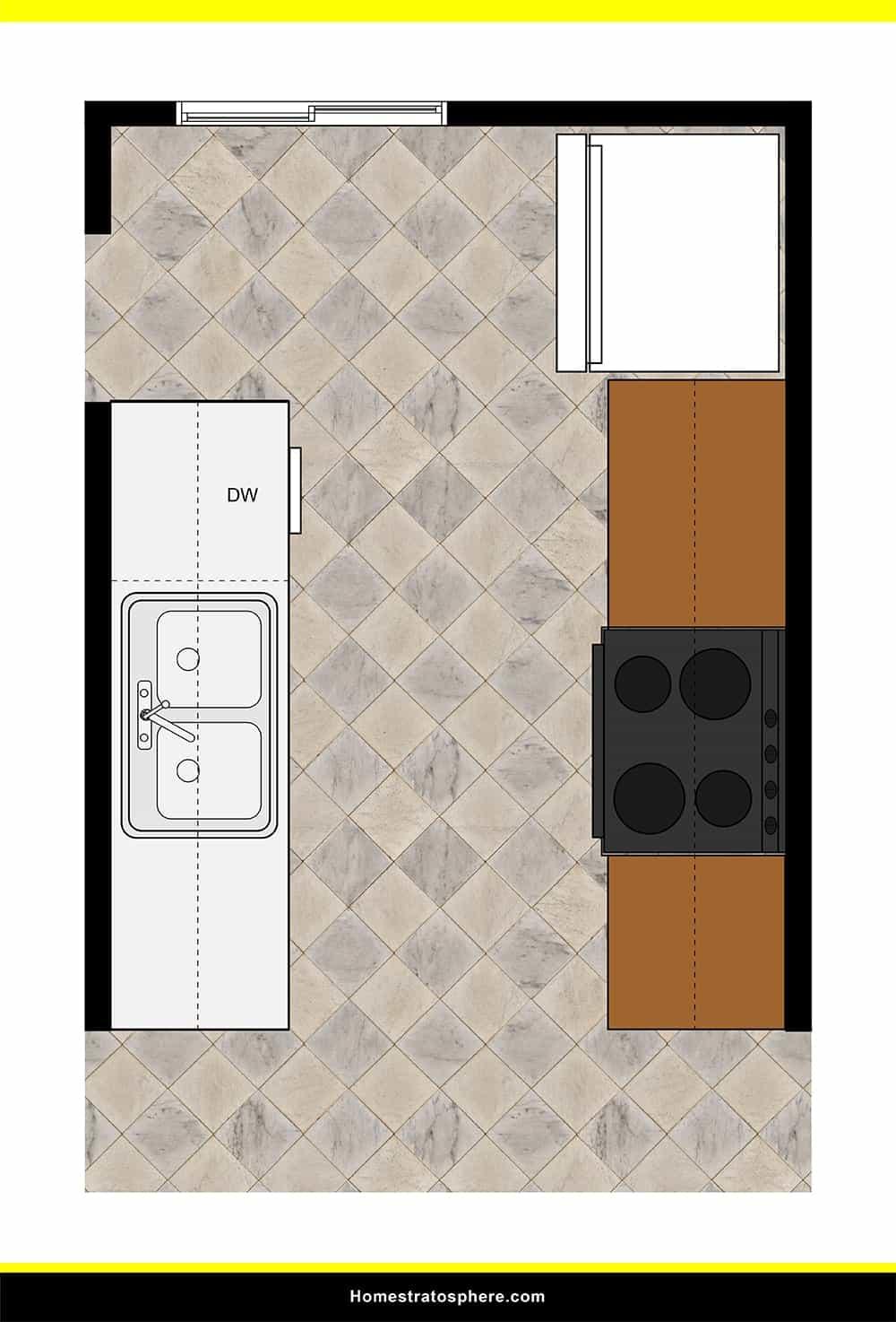 Kitchen 03 layout