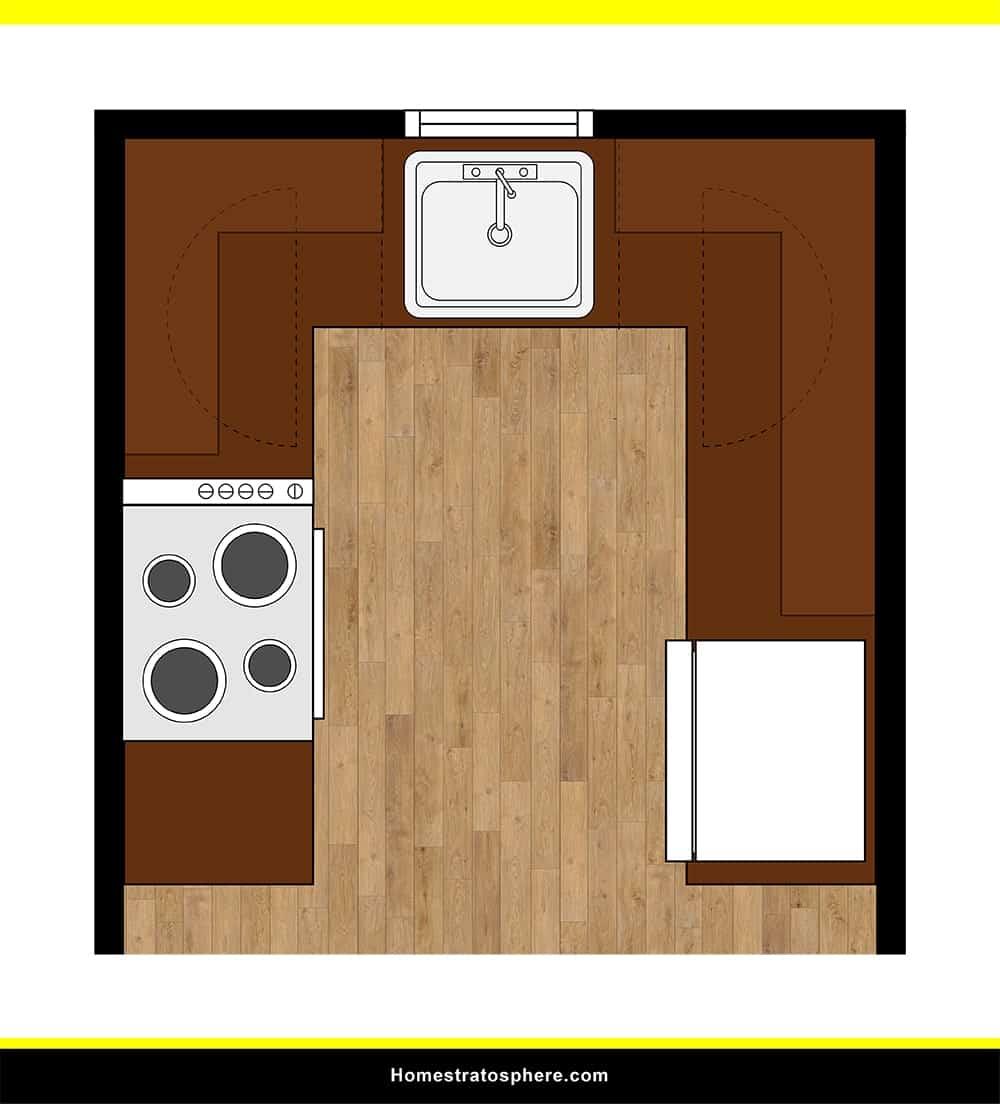 Kitchen 04 layout