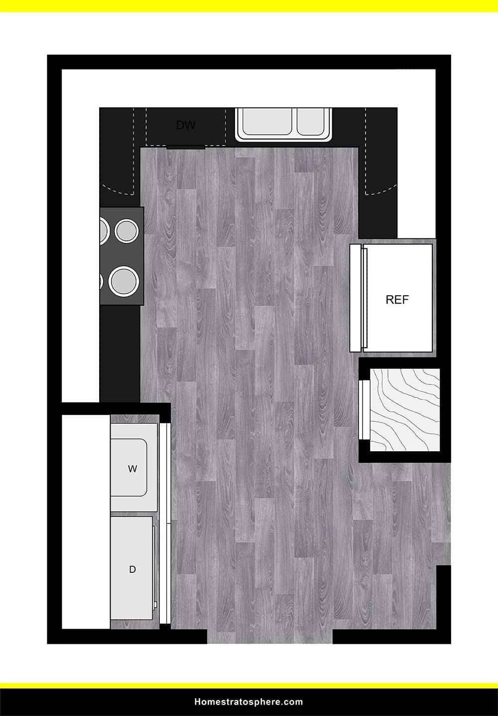 Kitchen 05 layout