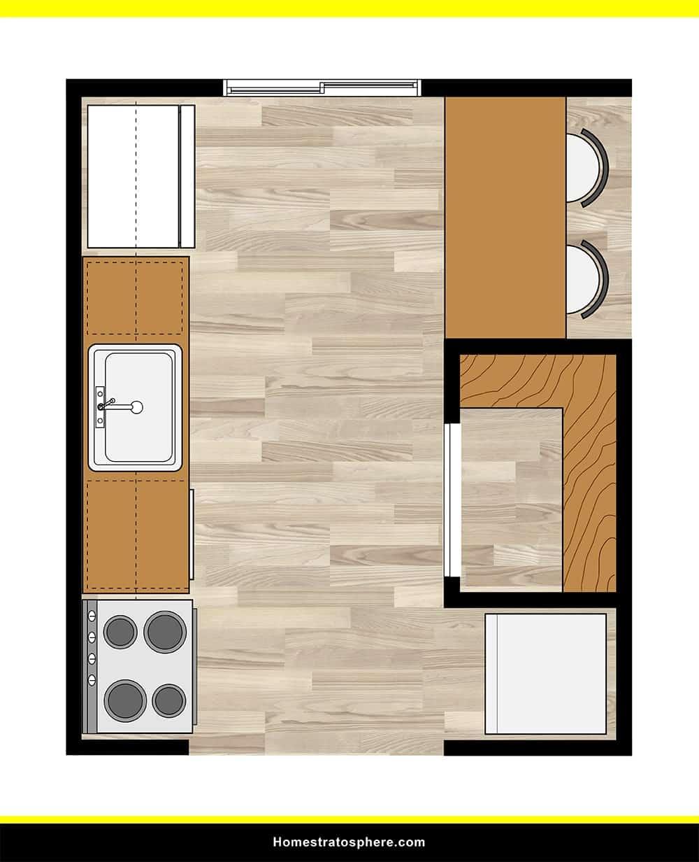 Kitchen 06 layout