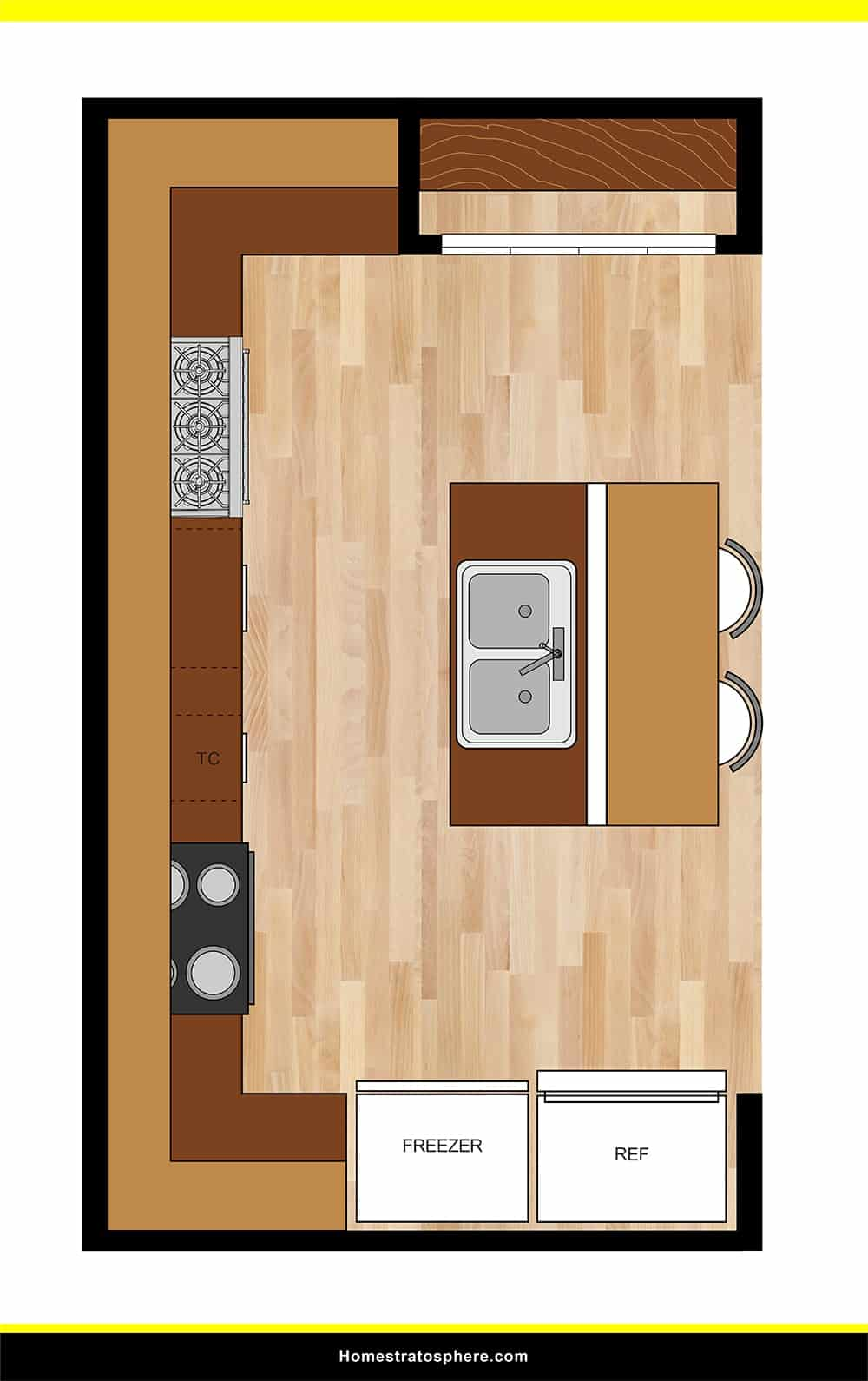 Kitchen 10 layout