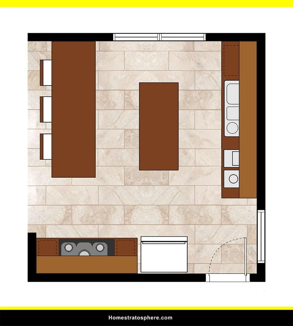 Kitchen 11 layout
