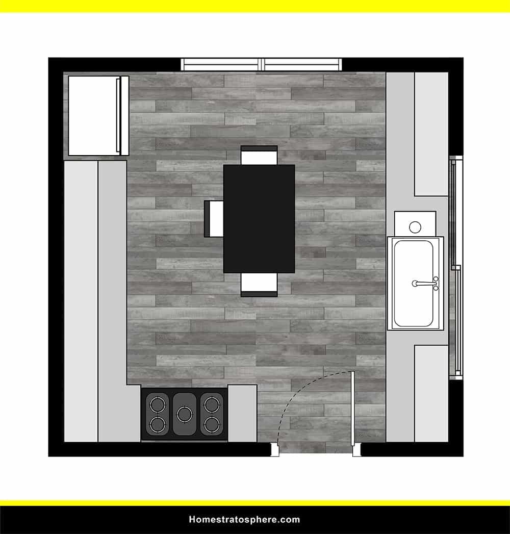 Kitchen 12 layout
