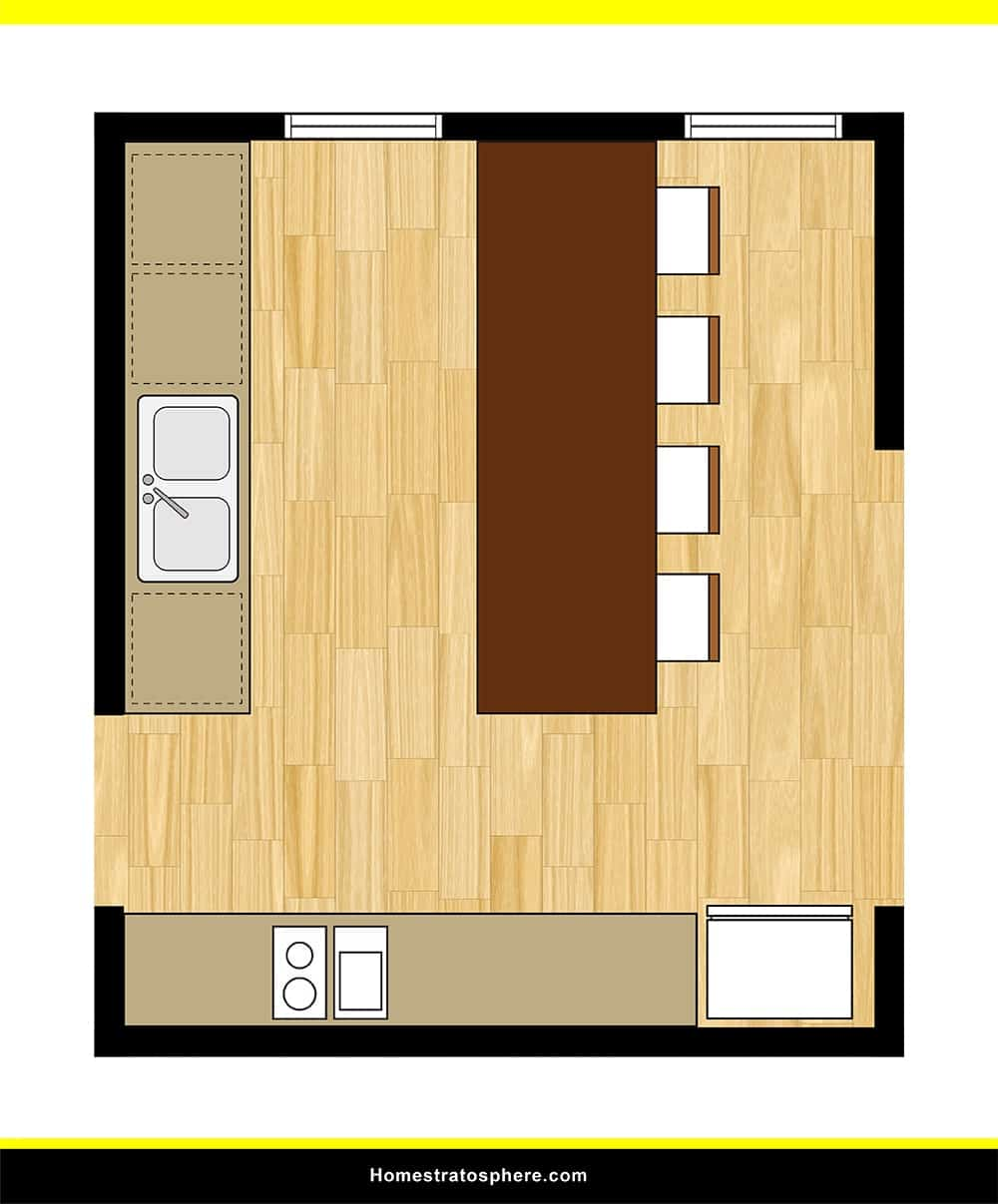 Kitchen 13 layout