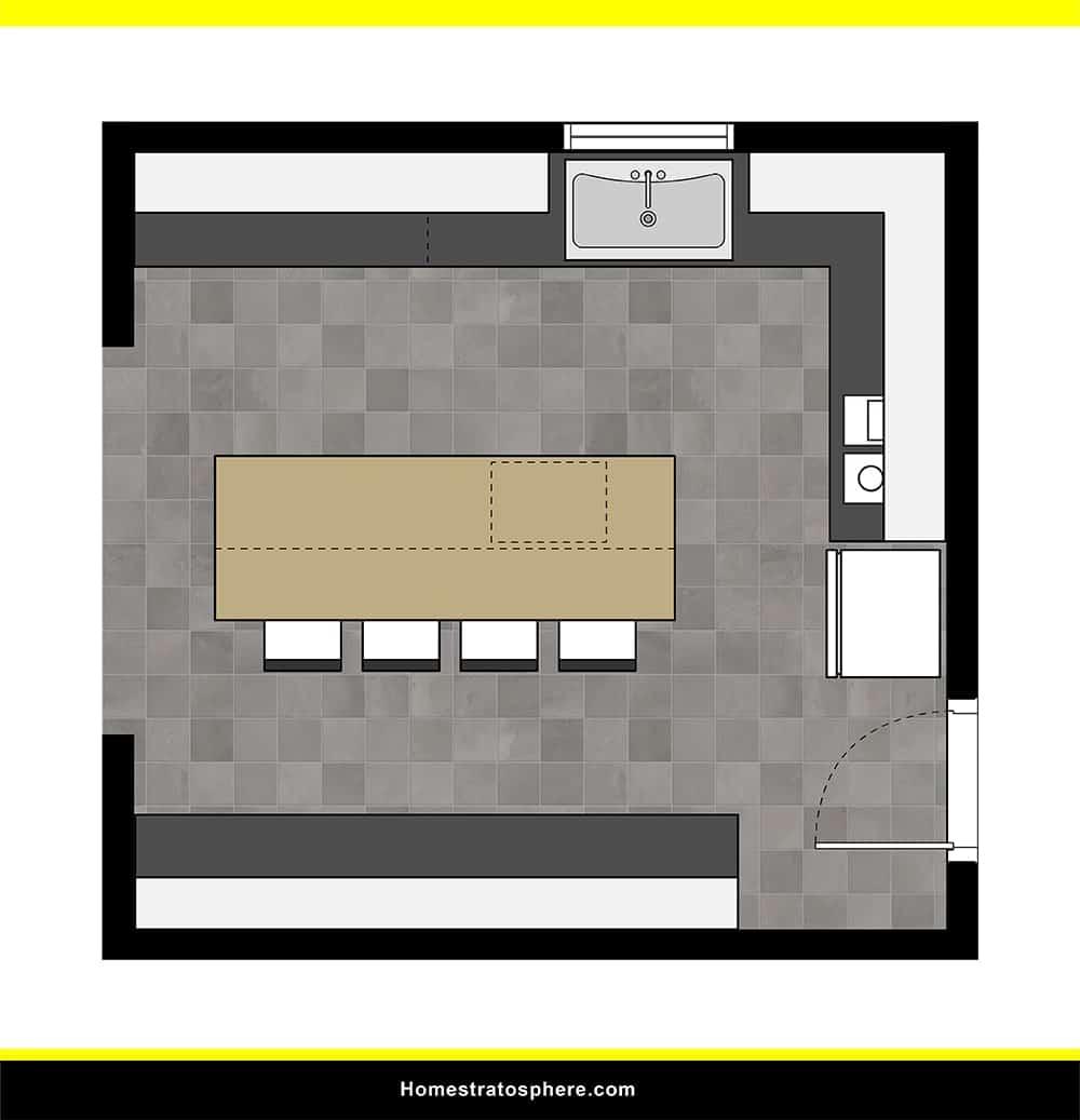 Kitchen 15 layout