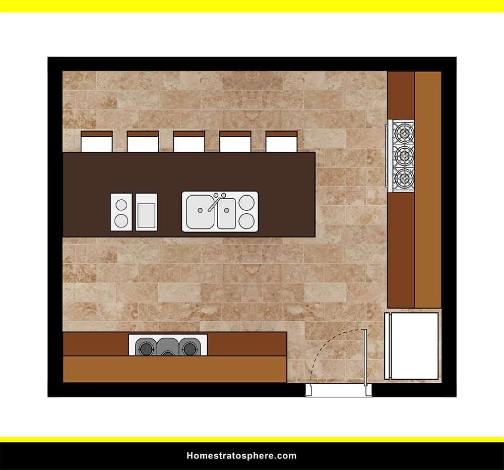 Kitchen 16 layout