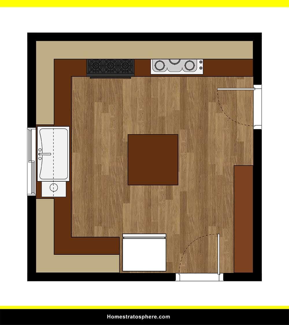 Kitchen 19 layout