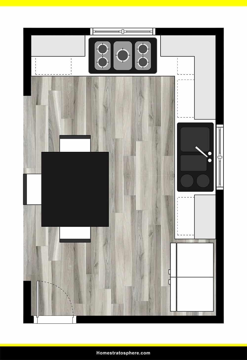 Kitchen 21 layout