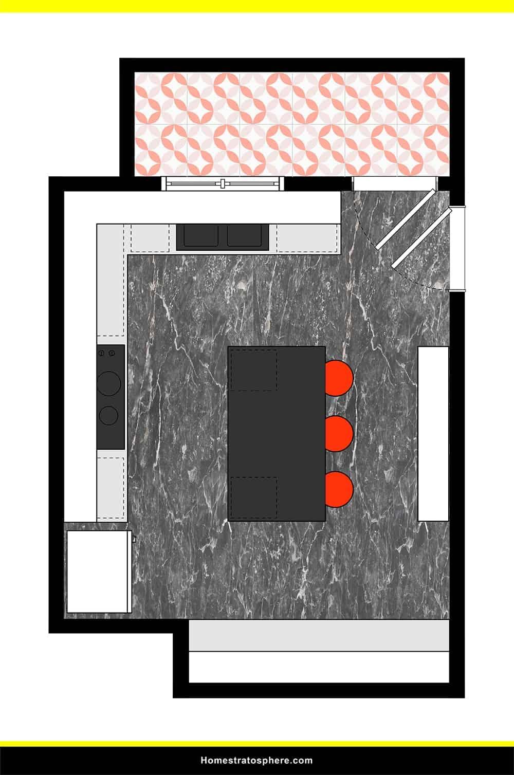 Kitchen 22 layout
