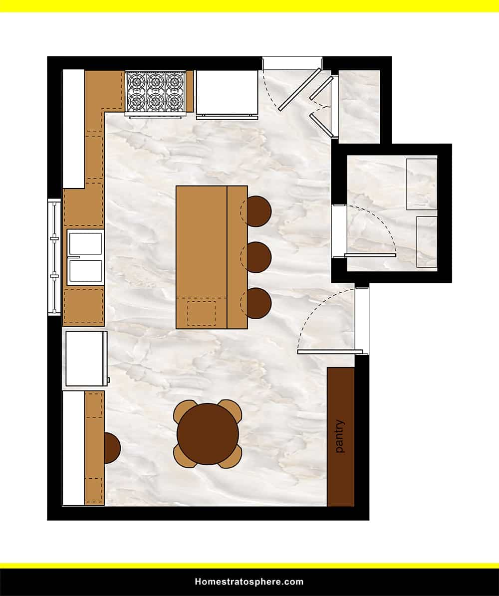 Kitchen 23 layout