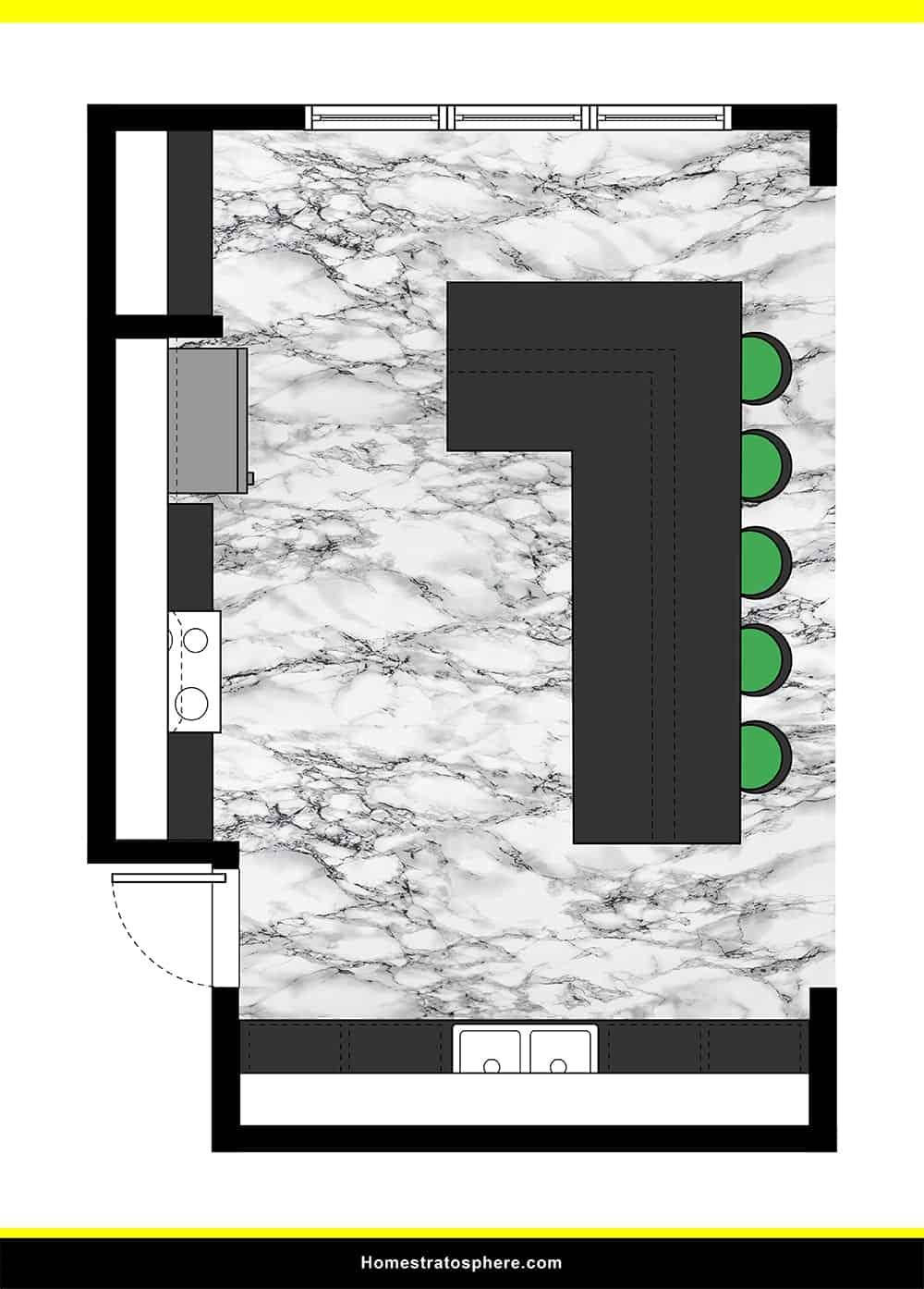 Kitchen 24 layout