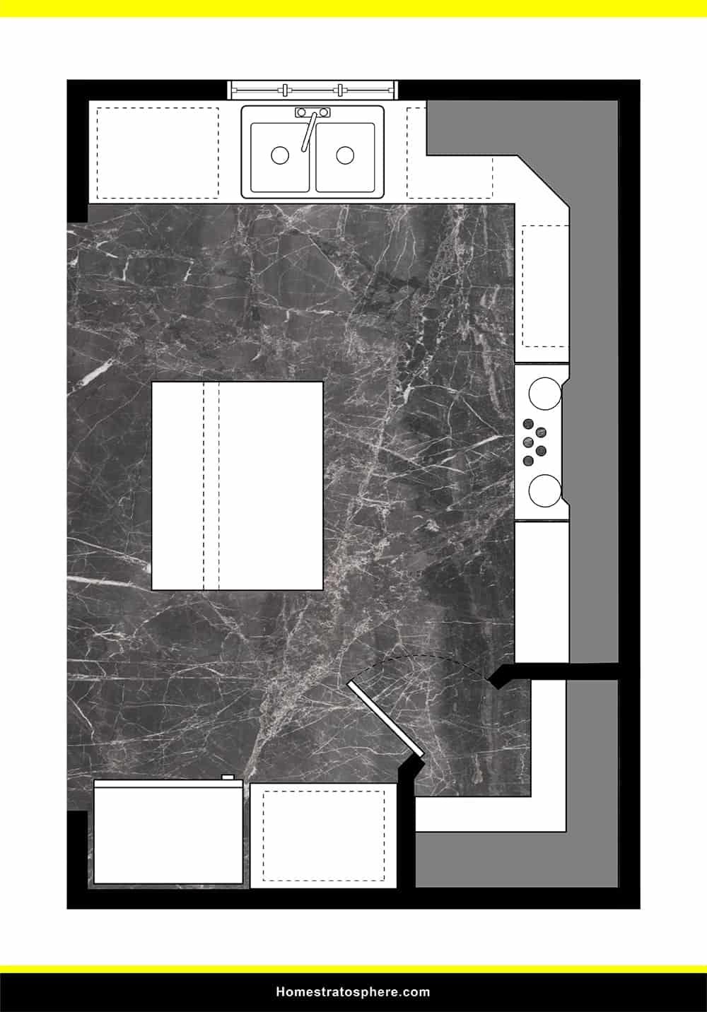 Kitchen 25 layout