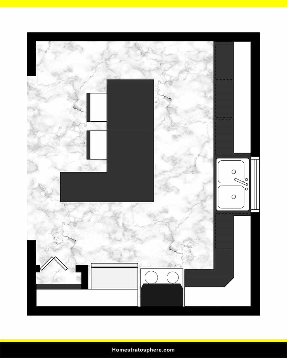 Kitchen 26 layout
