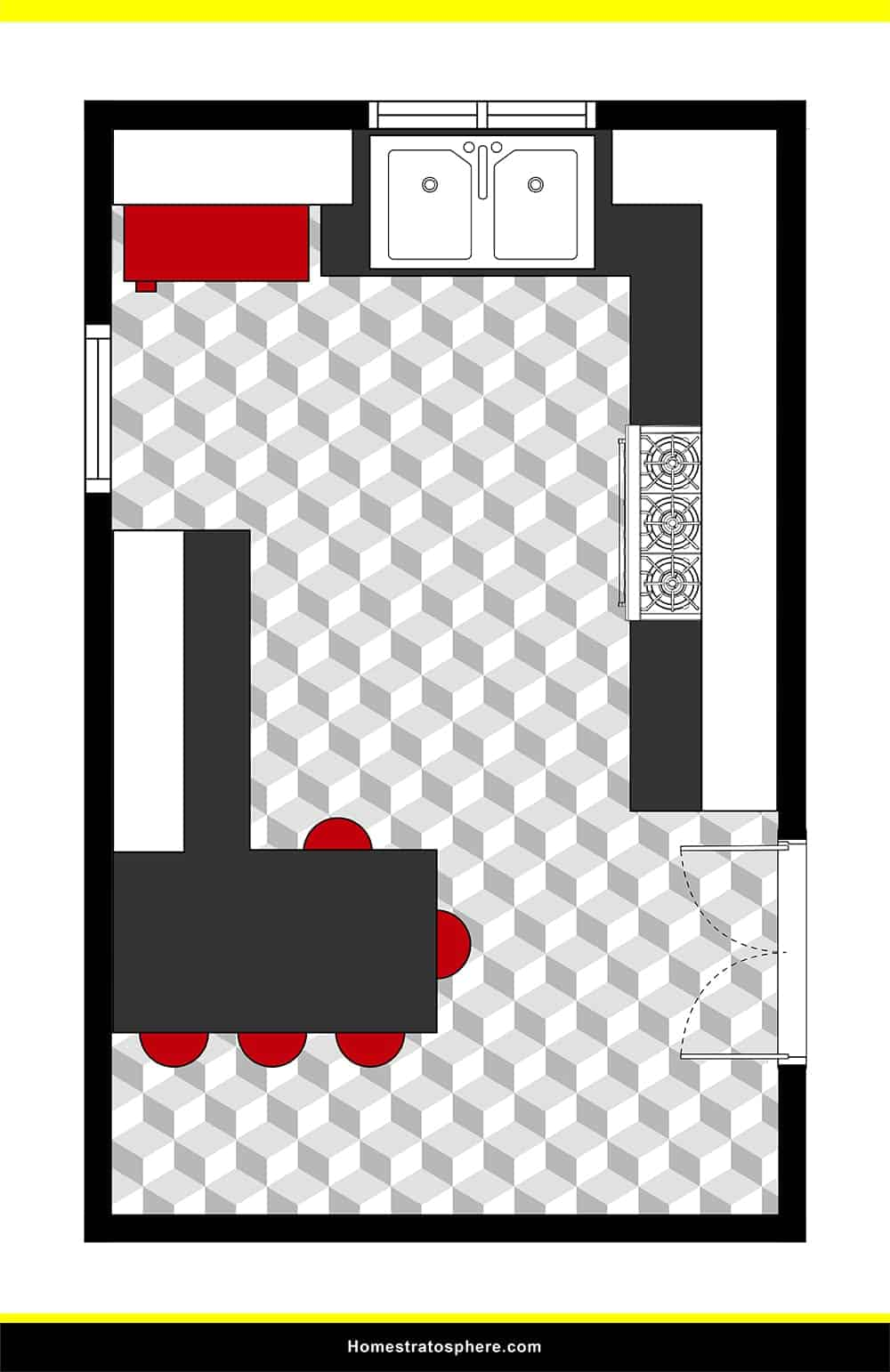 Kitchen 27 layout