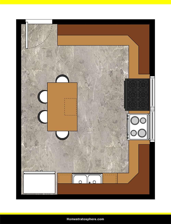 Kitchen 28 layout