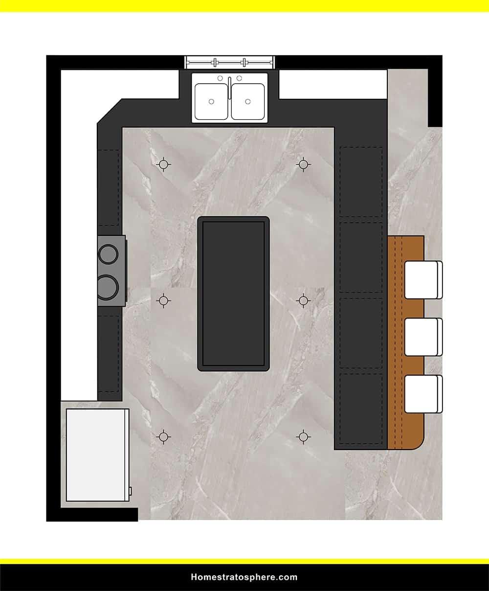 Kitchen 30 layout