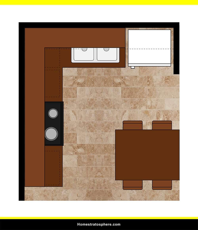 Kitchen 31 layout