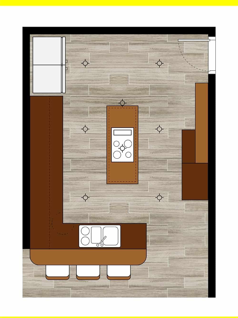 Kitchen 32 layout
