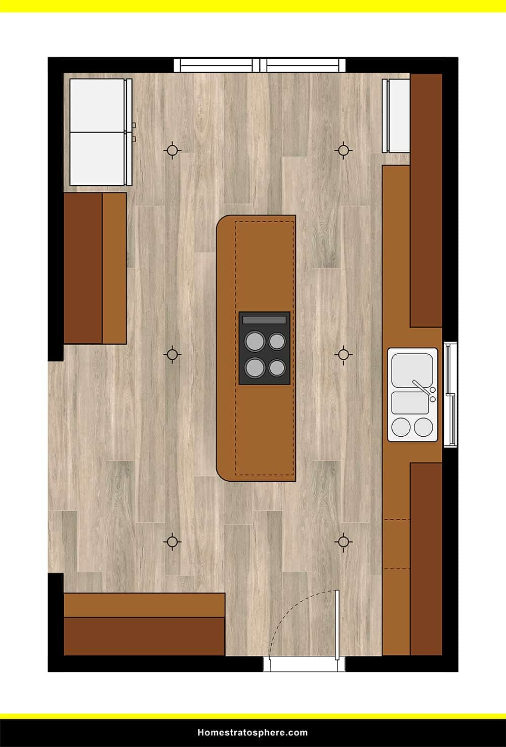 Kitchen 33 layout